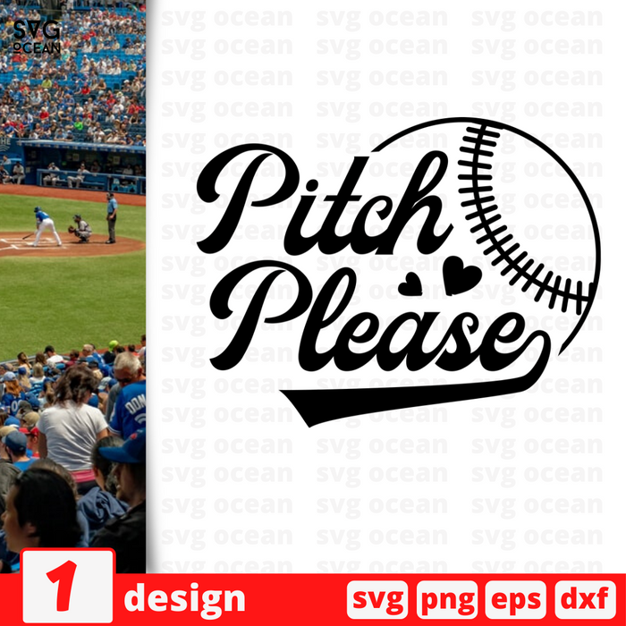 Pitch please SVG vector bundle - Svg Ocean