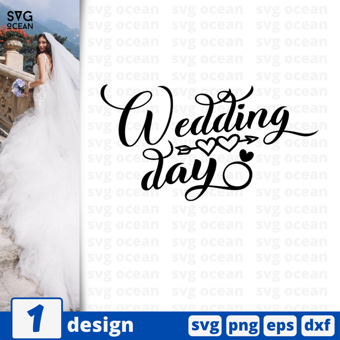 Wedding day SVG vector bundle - Svg Ocean