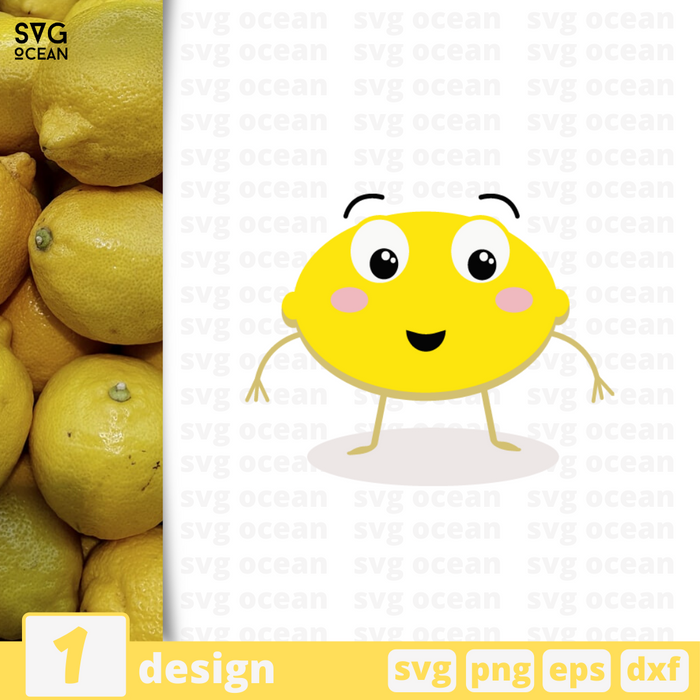 Lemon SVG vector bundle - Svg Ocean