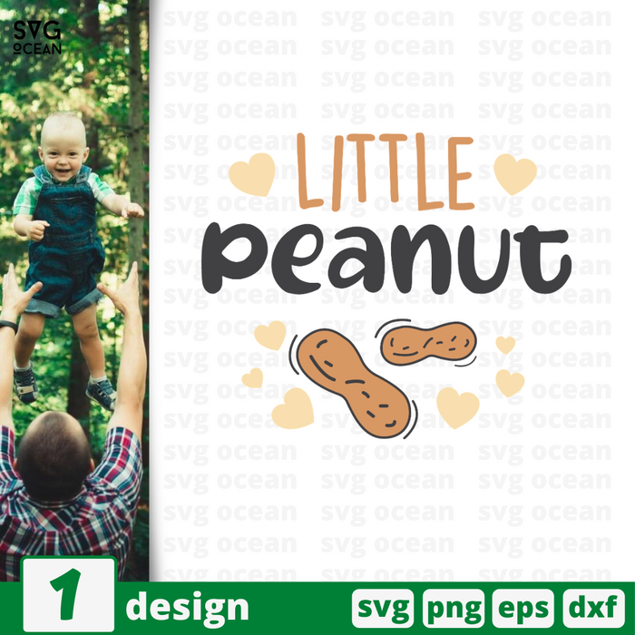 Little peanut SVG vector bundle - Svg Ocean