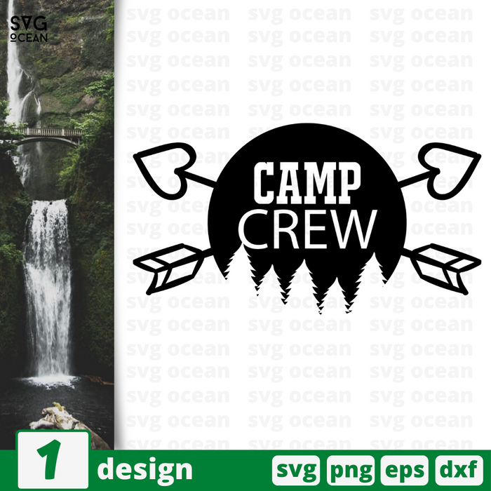 Camp crew SVG vector bundle - Svg Ocean