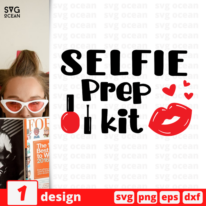 Selfie Prep kit SVG vector bundle - Svg Ocean