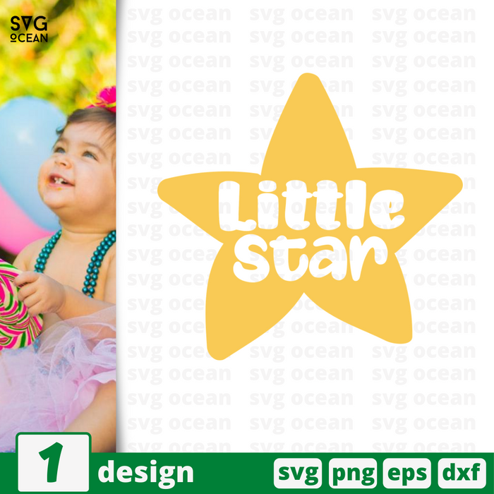 Little star SVG vector bundle - Svg Ocean
