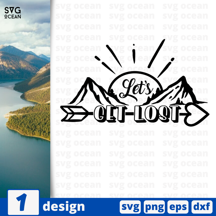 let's get lost SVG vector bundle - Svg Ocean