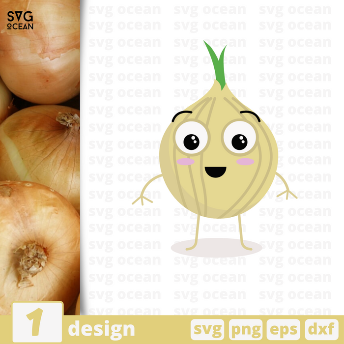 Onion SVG vector bundle - Svg Ocean
