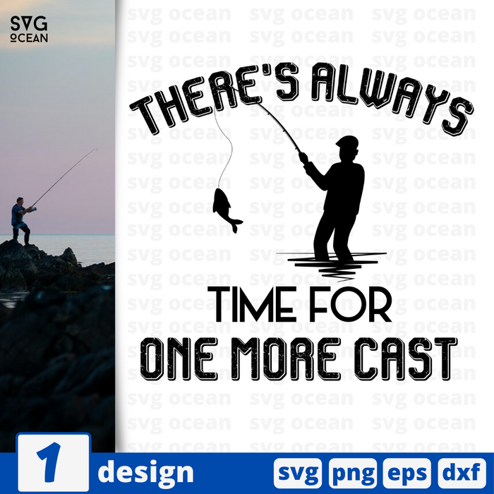 There's always time for one more cast SVG vector bundle - Svg Ocean