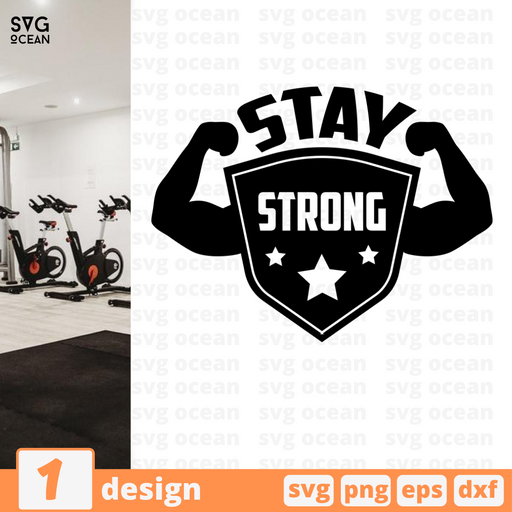 Stay strong SVG vector bundle - Svg Ocean