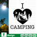 I love camping SVG vector bundle - Svg Ocean