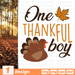 One thankful boy SVG vector bundle - Svg Ocean