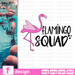 Flamingo squad SVG vector bundle - Svg Ocean
