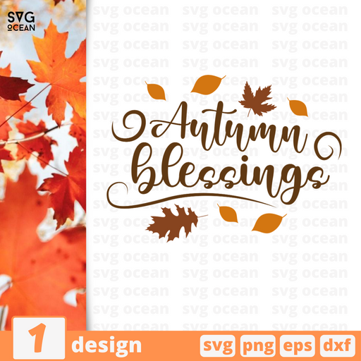 Autumn blessings SVG vector bundle - Svg Ocean