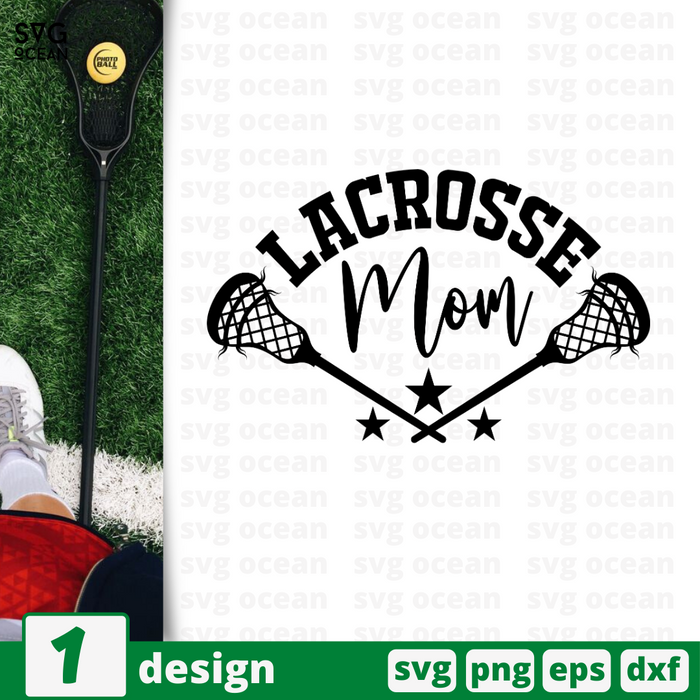 Lacrosse mom SVG vector bundle - Svg Ocean