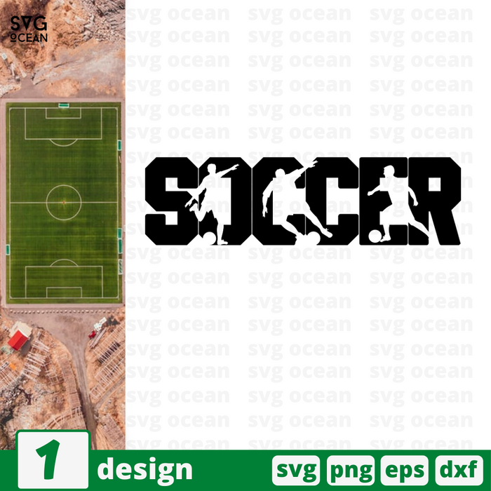 Soccer SVG vector bundle - Svg Ocean