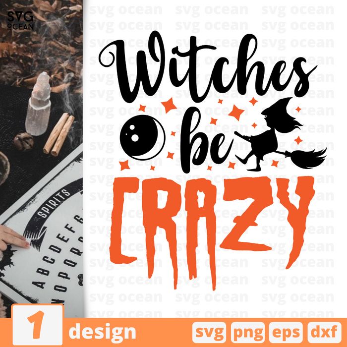 Witches be crazy SVG vector bundle - Svg Ocean