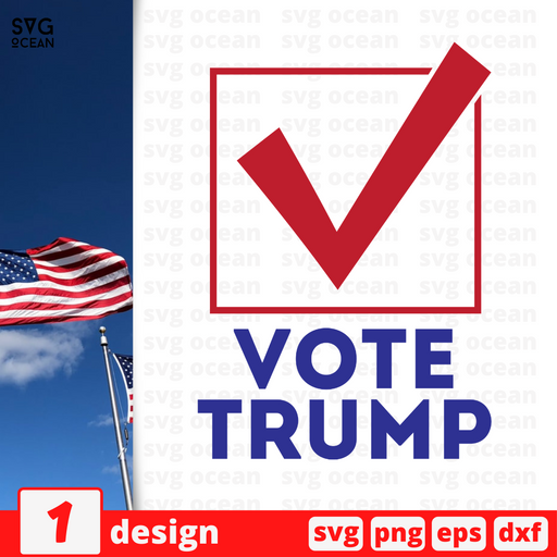 Vote Trump SVG vector bundle - Svg Ocean