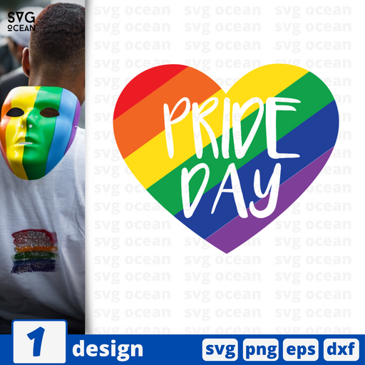 Pride day SVG vector bundle - Svg Ocean