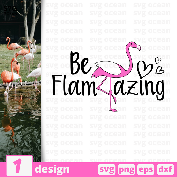 Be flamazing SVG vector bundle - Svg Ocean