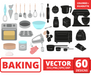 Baking elements SVG bundle - Svo Ocean