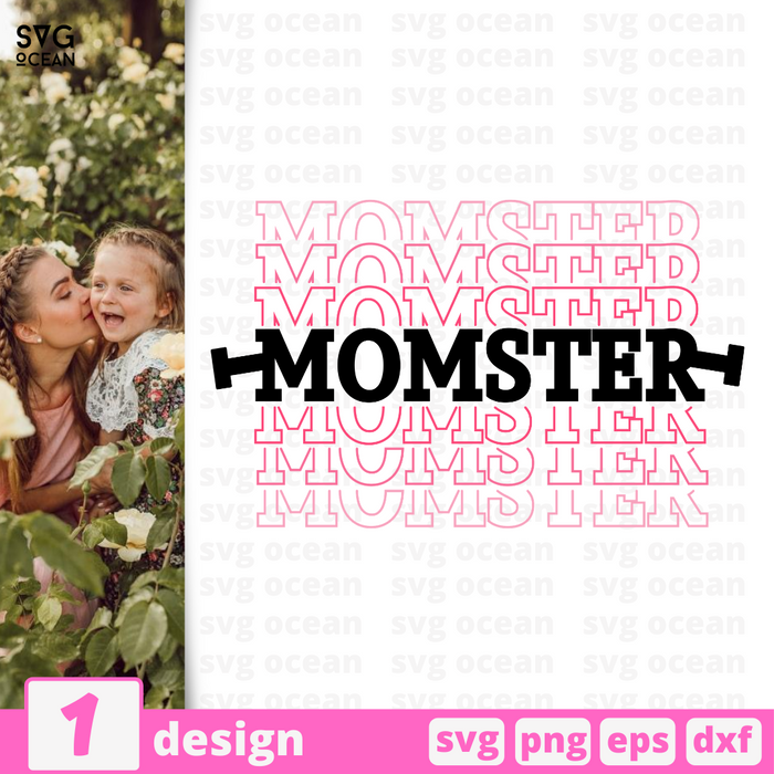 Momster SVG vector bundle - Svg Ocean