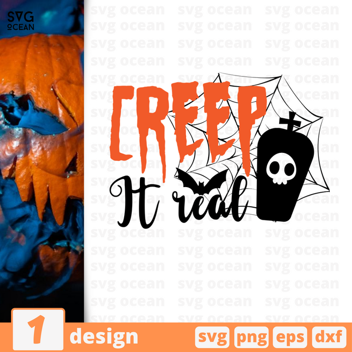 Creep it real SVG vector bundle - Svg Ocean