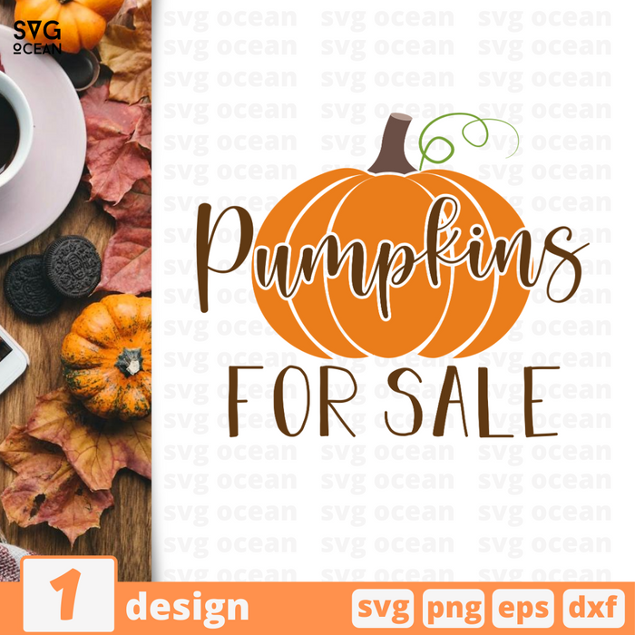 Pumpkins for sale SVG vector bundle - Svg Ocean