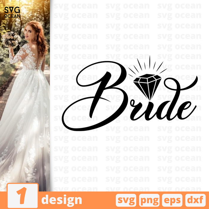 Bride SVG vector bundle - Svg Ocean