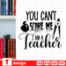 You can't scare me I am a teacher SVG vector bundle - Svg Ocean