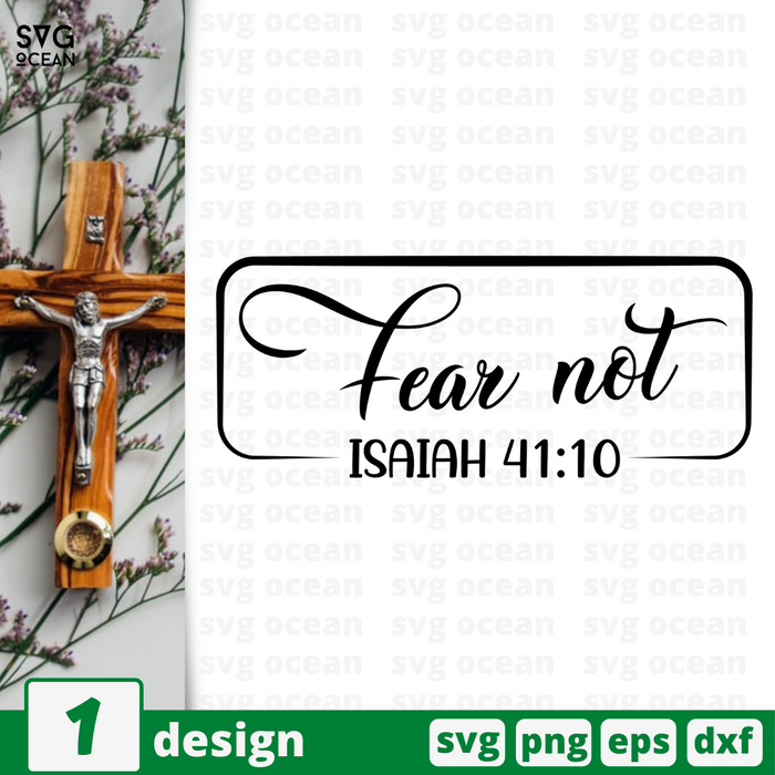 Fear not SVG vector bundle - Svg Ocean
