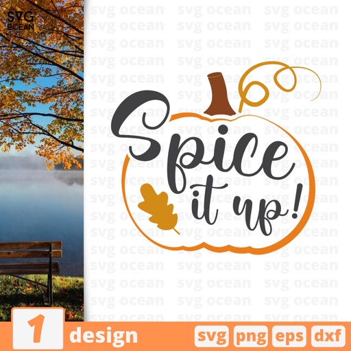 Spice it up! SVG vector bundle - Svg Ocean