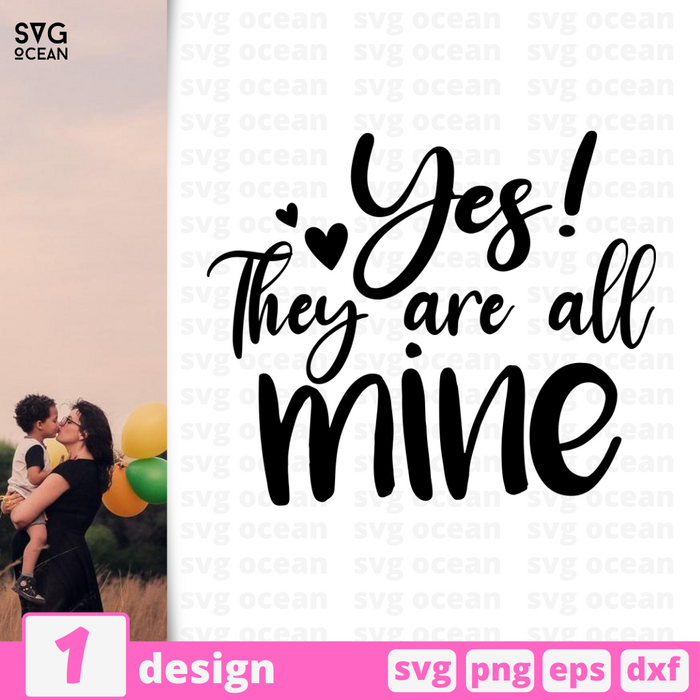 Yes! They are all mine SVG vector bundle - Svg Ocean