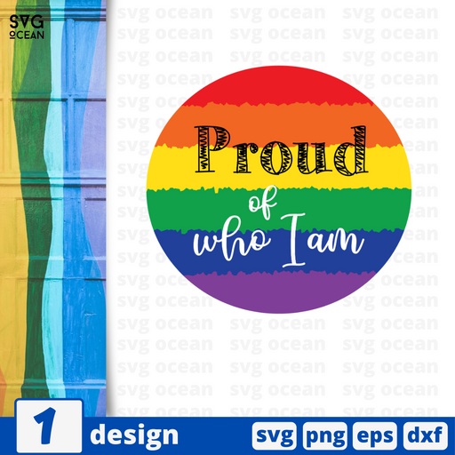 Proud of who I am SVG vector bundle - Svg Ocean