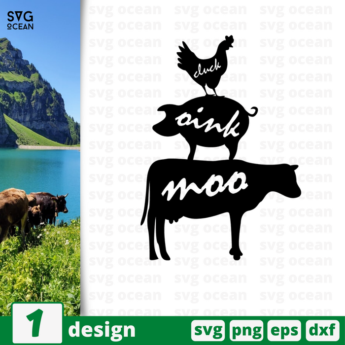 Animals SVG vector bundle - Svg Ocean