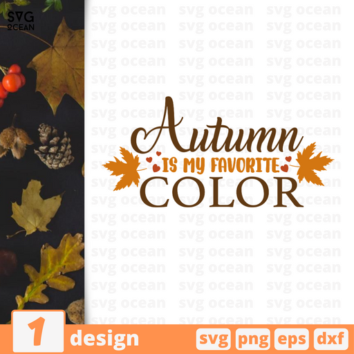 Autumn is my favorite color SVG vector bundle - Svg Ocean