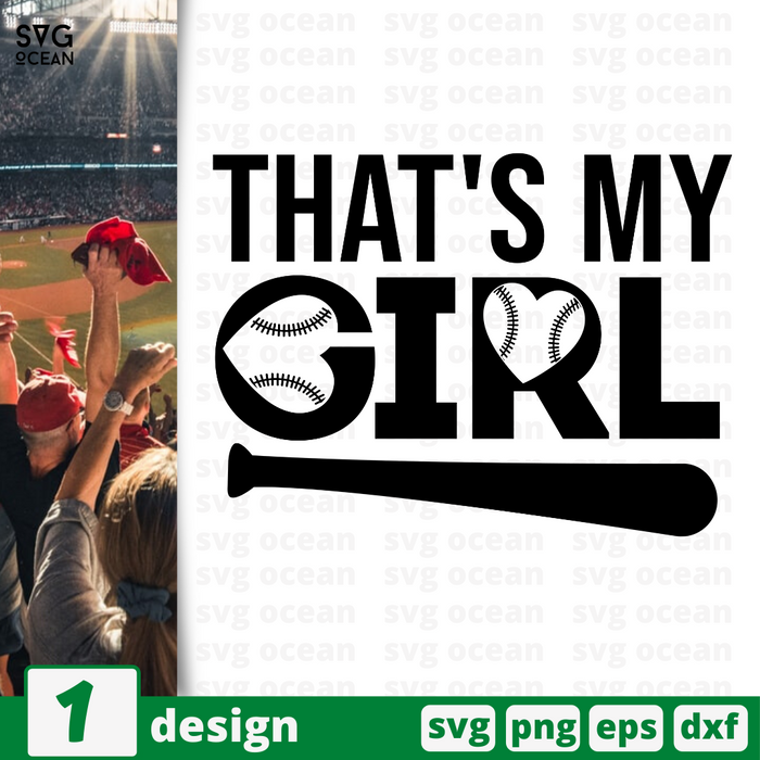 That's my girl SVG vector bundle - Svg Ocean