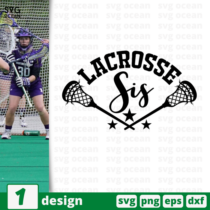 Lacrosse sis SVG vector bundle - Svg Ocean
