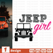 Free Jeep girl quote SVG printable cut file Jeep girl - Svg Ocean