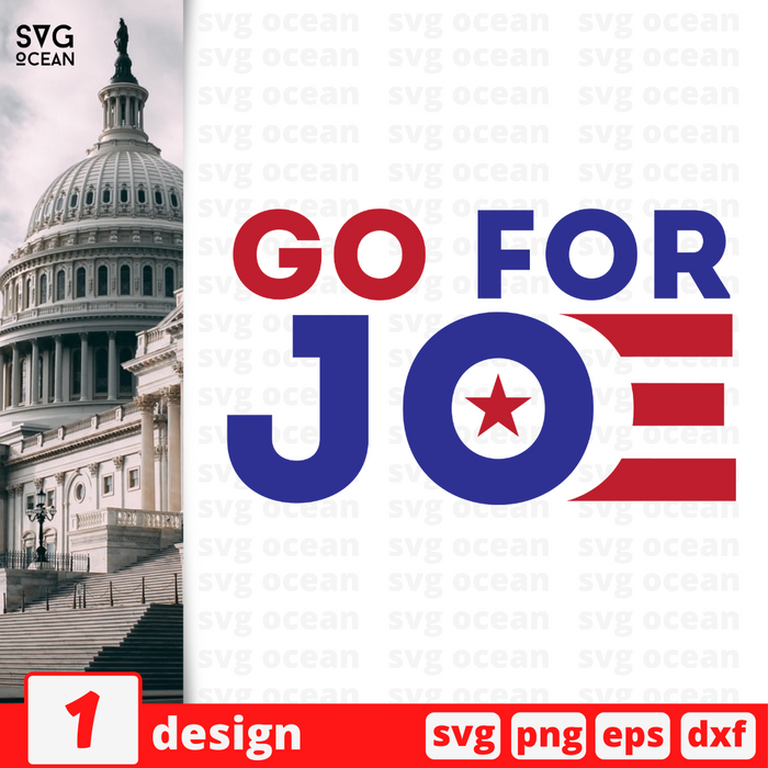 Go for Joe SVG vector bundle - Svg Ocean
