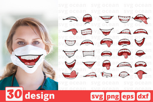 Face mask svg pattern - Svg Ocean
