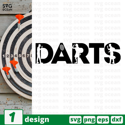 Darts SVG vector bundle - Svg Ocean