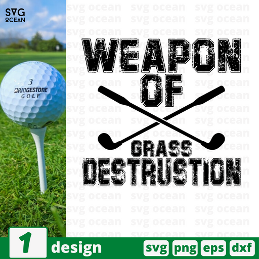 Weapon of grass destrustion SVG vector bundle - Svg Ocean