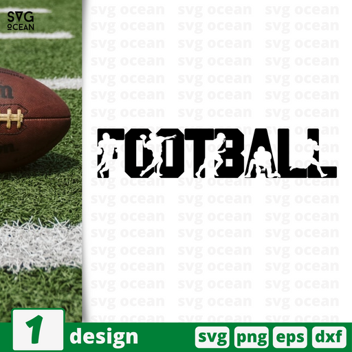 Football SVG vector bundle - Svg Ocean