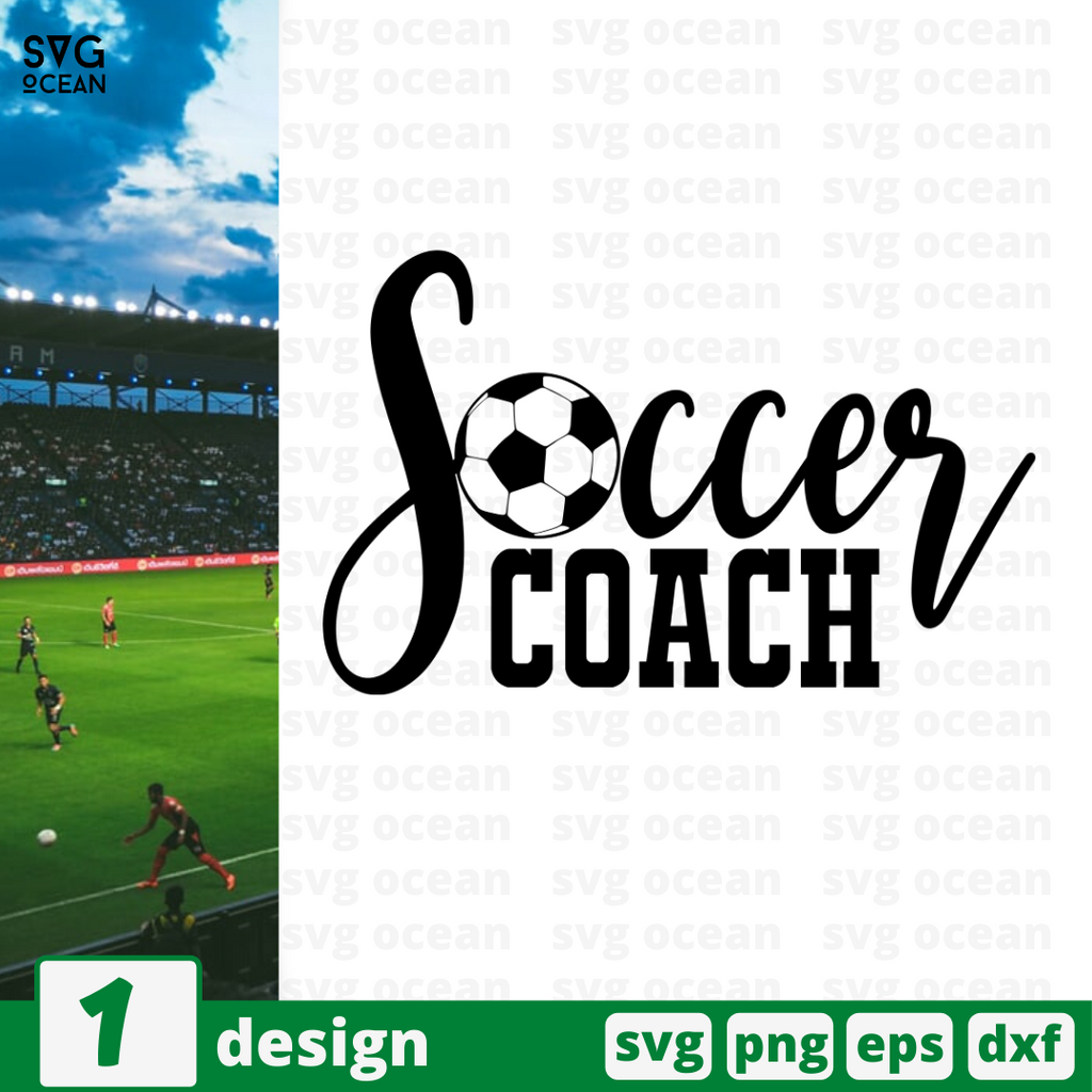 Soccer coach SVG vector bundle - Svg Ocean