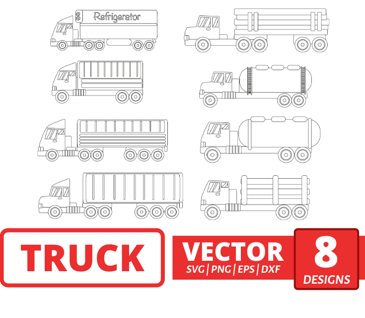 Truck SVG Bundle