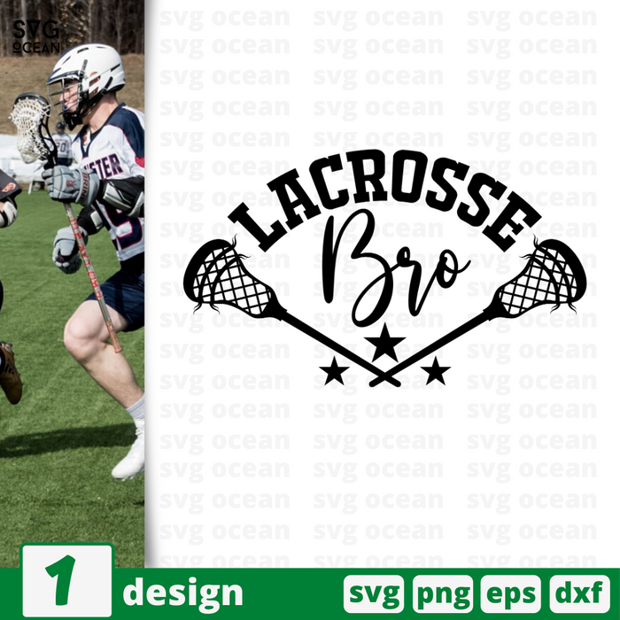 Lacrosse brother SVG vector bundle - Svg Ocean