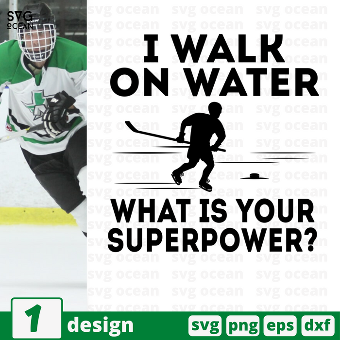 I walk on water What is your superpower SVG vector bundle - Svg Ocean