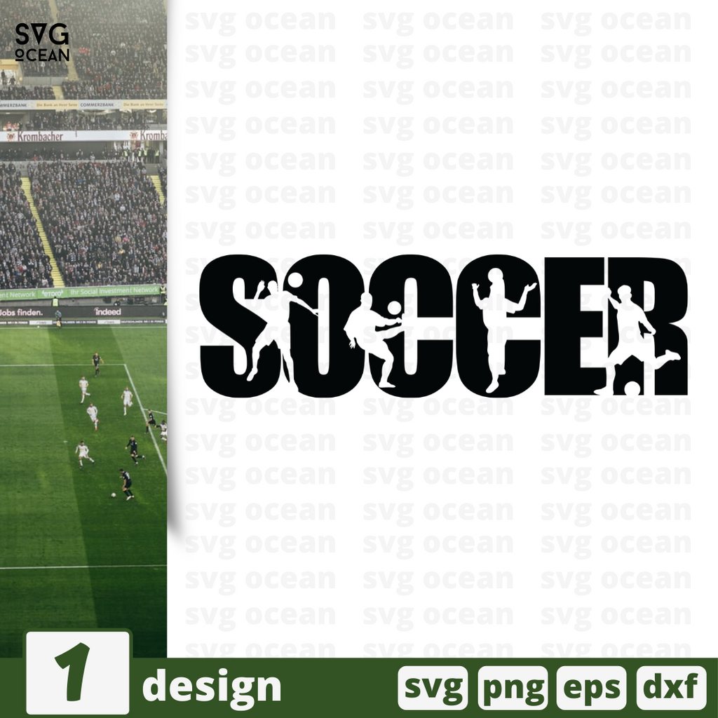 Free Soccer  quote SVG printable cut file Soccer - Svg Ocean