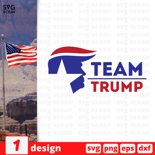 Team Trump SVG vector bundle - Svg Ocean