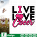 Live Love Cheer SVG vector bundle - Svg Ocean