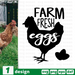 Farm fresh eggs SVG vector bundle - Svg Ocean