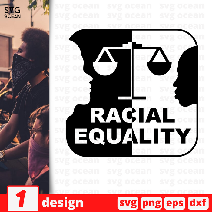 Racial Equality SVG vector bundle - Svg Ocean